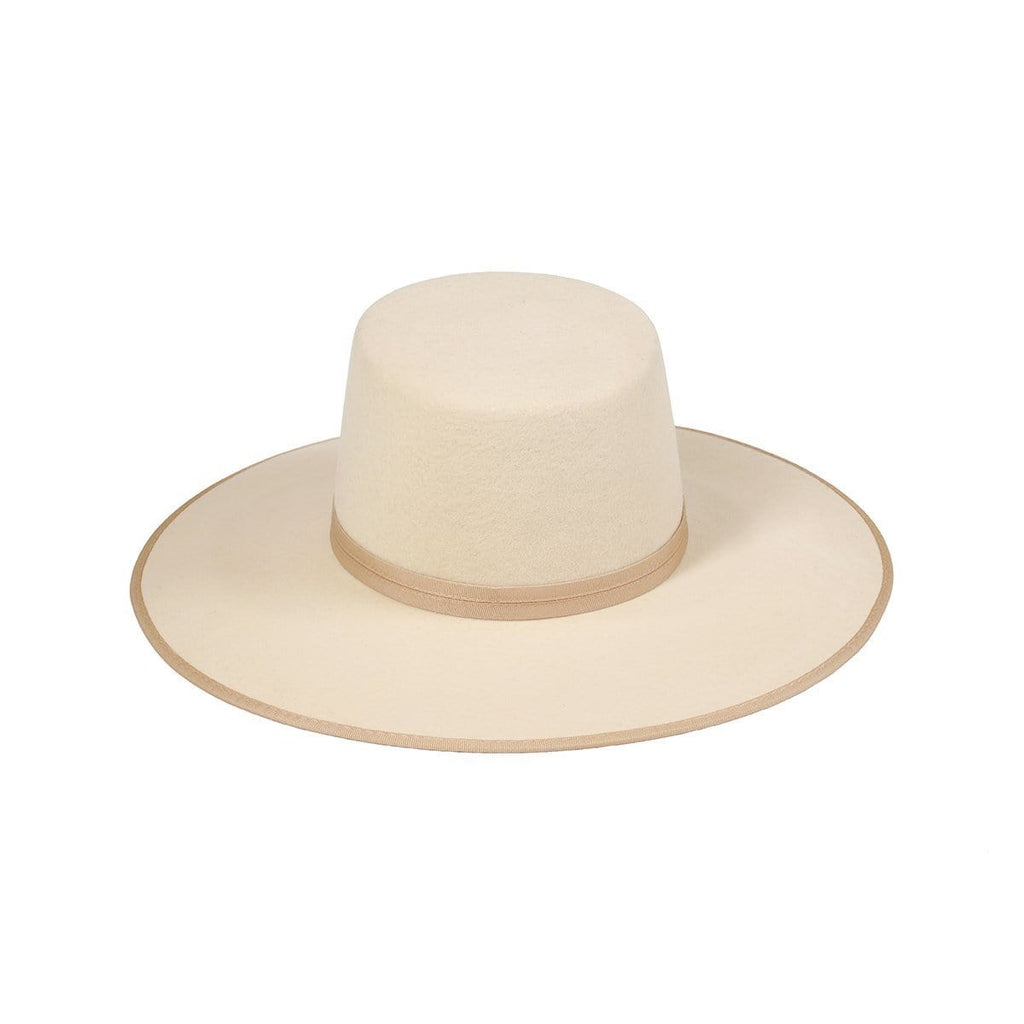 Lack Of Color Ivory Rancher Boater | Wild Dove Boutique