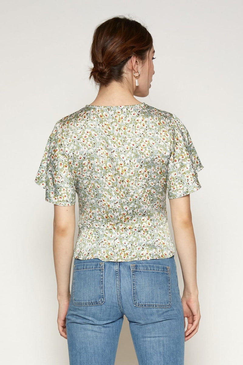 Lucy Paris Jac Floral Top