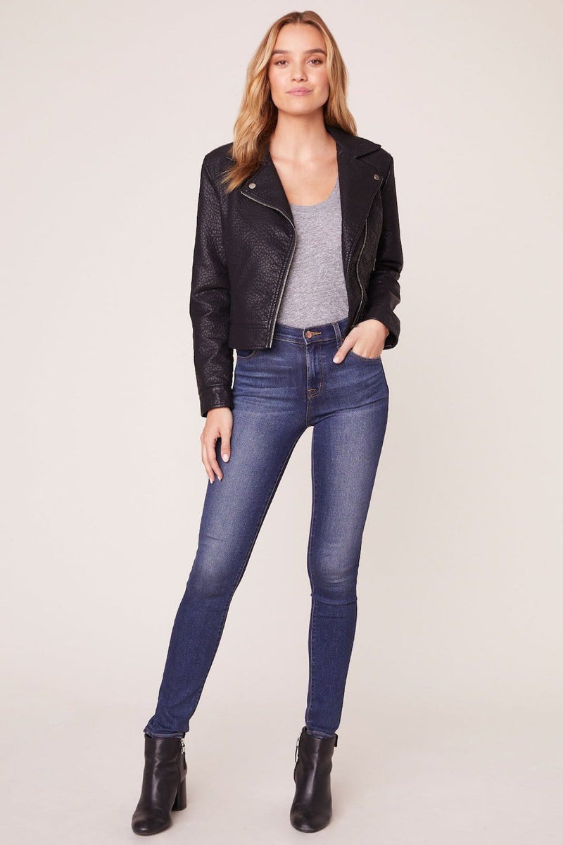 Jack by BB Dakota Lets Ride Vegan Leather Moto Jacket | Wild Dove Boutique | San Diego,CA