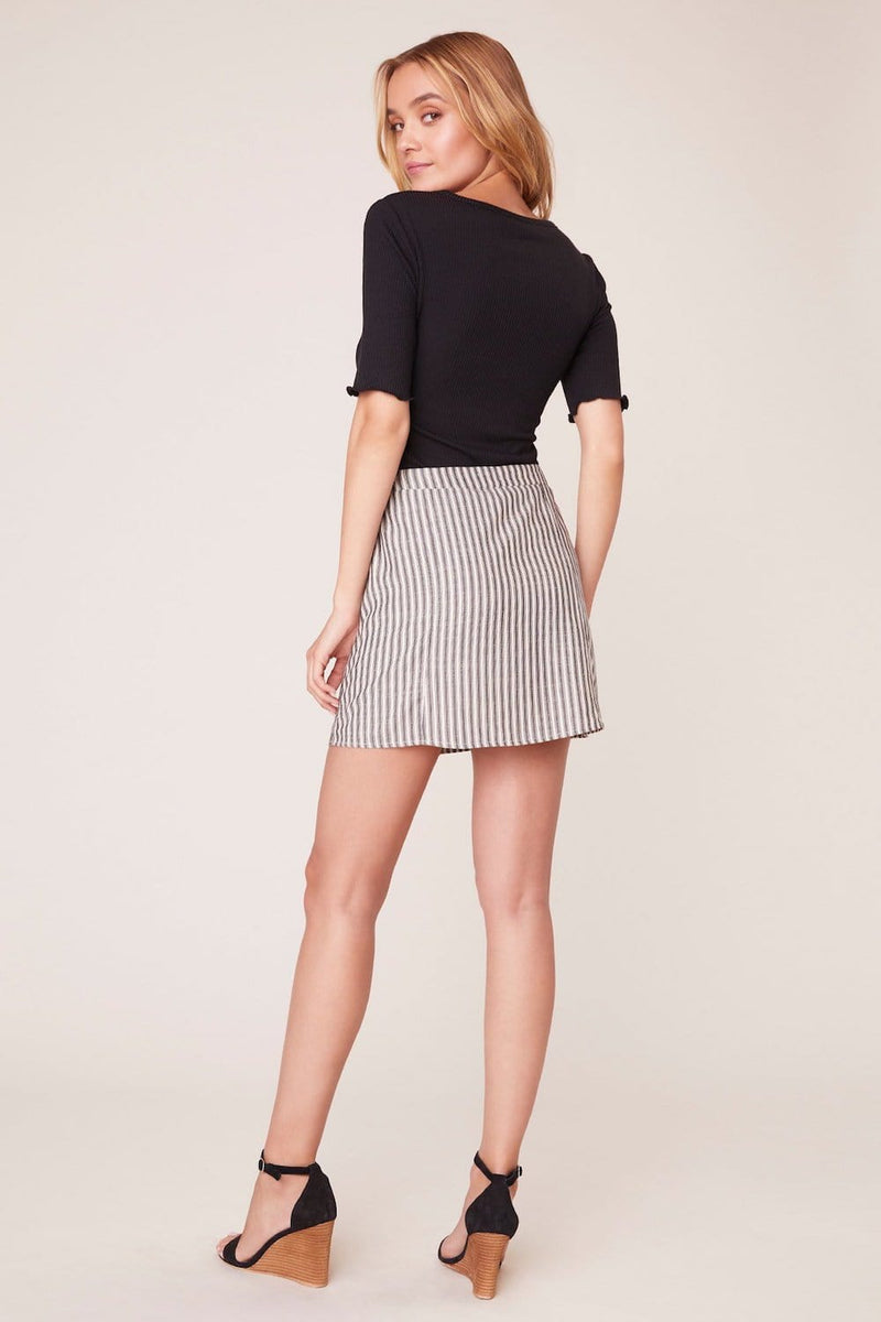Jack by BB Dakota Pretty Little Stripe Skirt | Wild Dove Boutique | San Diego,CA