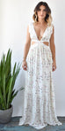 Stillwater Sunset Cut Out Maxi Dress