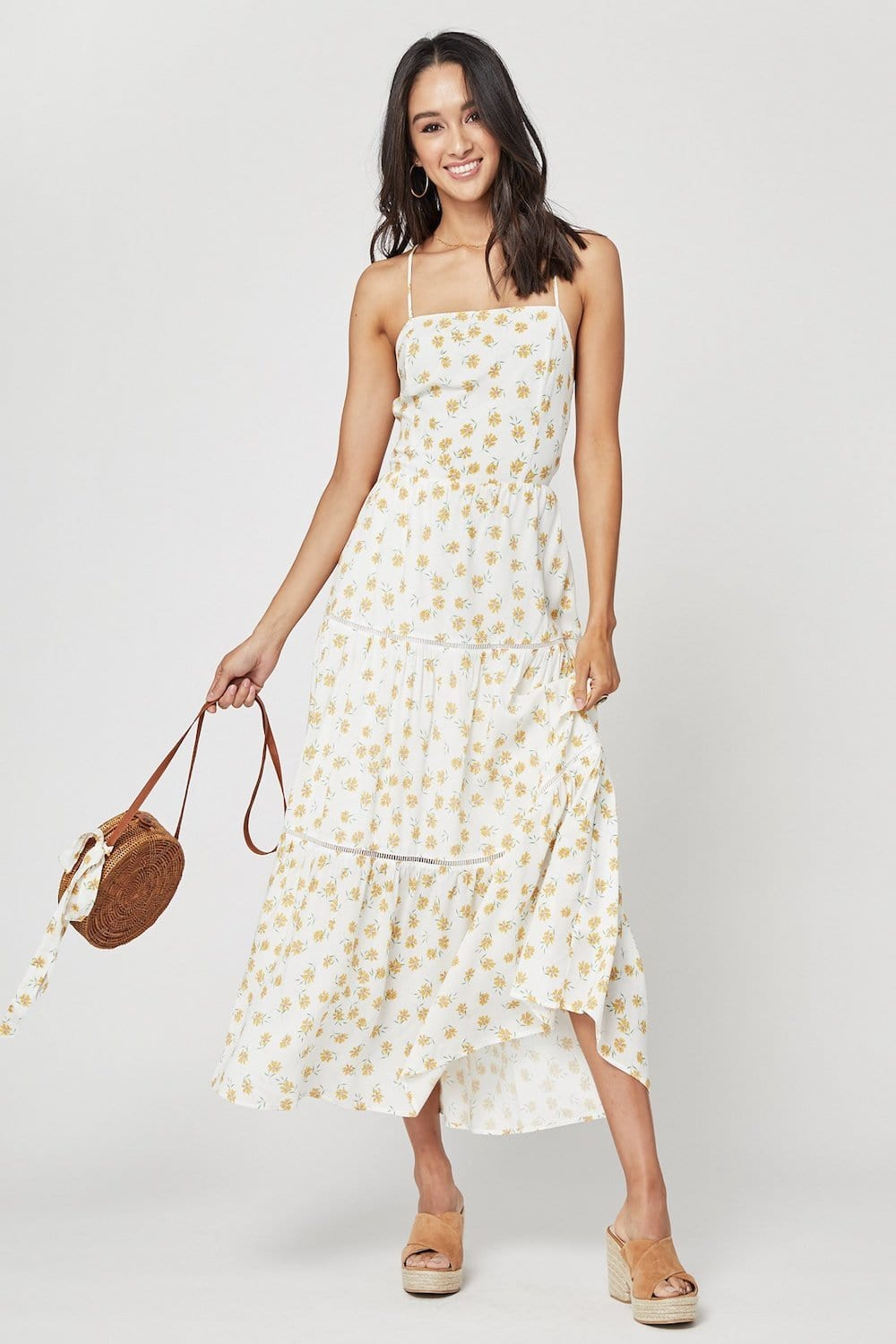 Lost + Wander Amelia Floral Maxi Dress