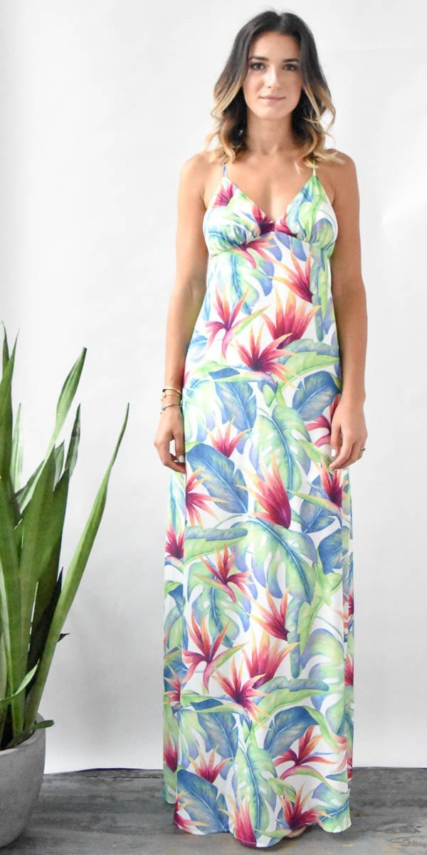 Show Me Your Mumu Amal Maxi Palms Fling