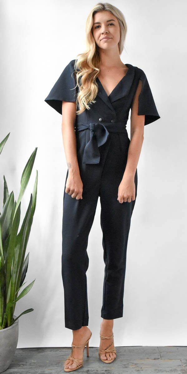 The Fifth Label Manhattan Jumpsuit Navy