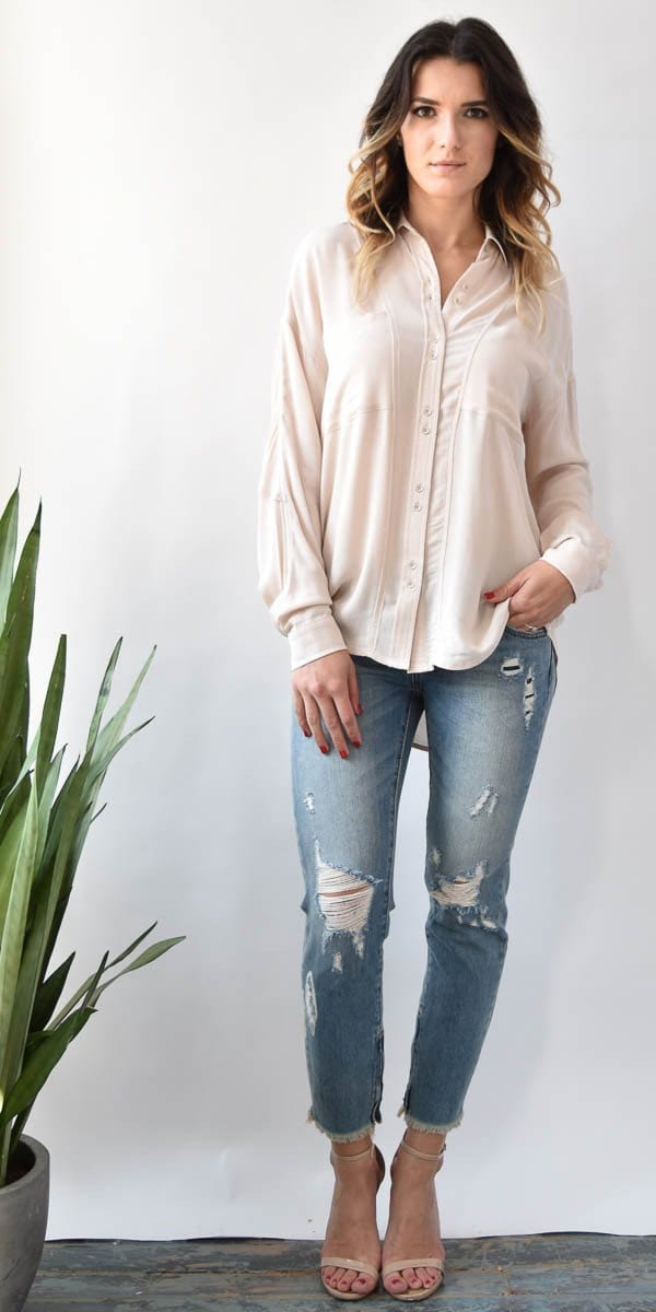 Calloway Button Up Blouse