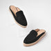 Kaanas La Jolla Loafer Slide Black