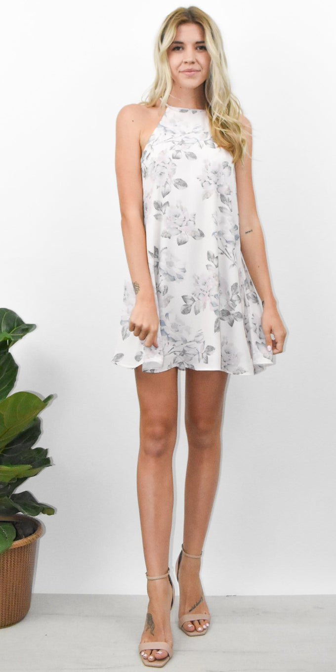 Show Me Your Mumu Gomez Mini Dress in Everlasting Rose