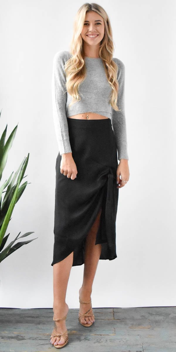 The Fifth Label Changing Course Skirt in Black