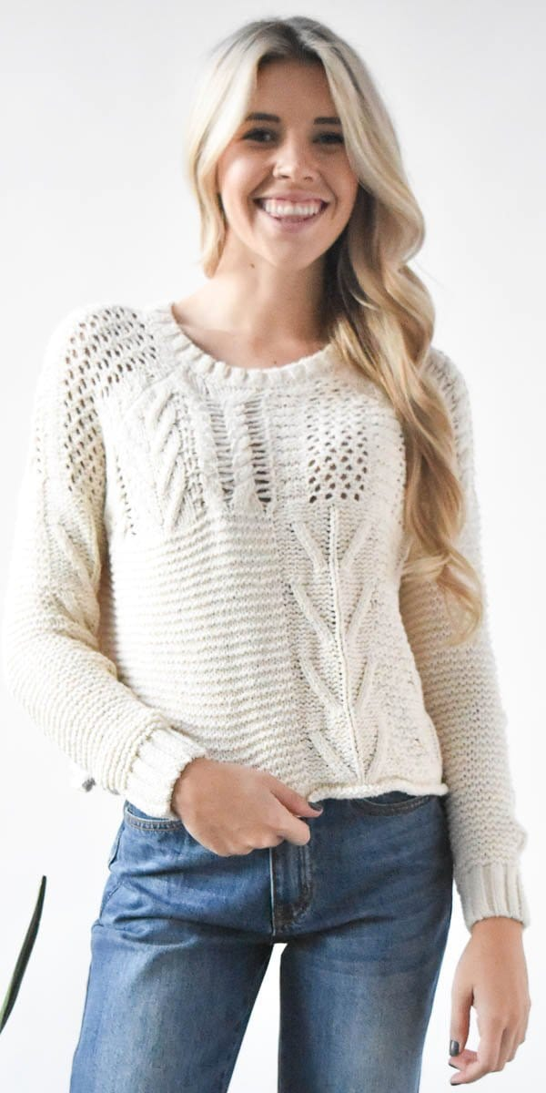 Endless Rose Chunky Sweater Knit