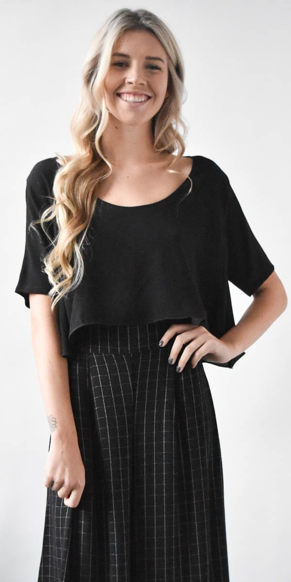 Otis Maclain Mae Tee Top in Black