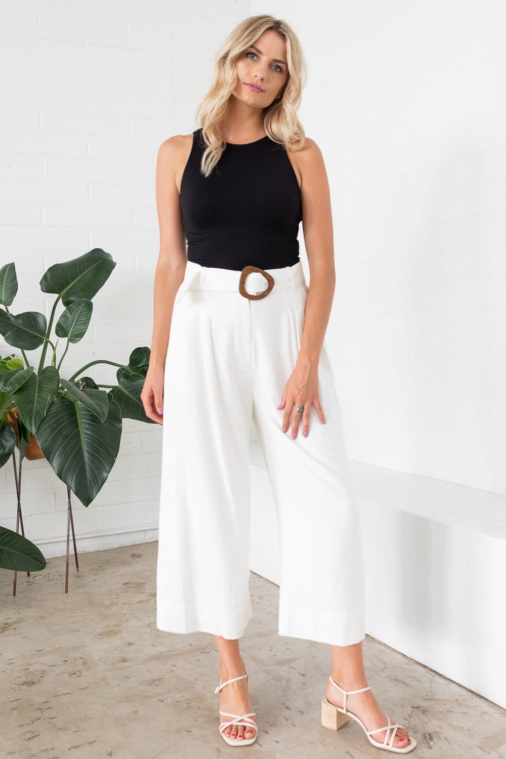 Willow Tuscany Pant Ivory