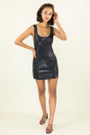 BB Dakota Rock City Vegan Leather Dress |