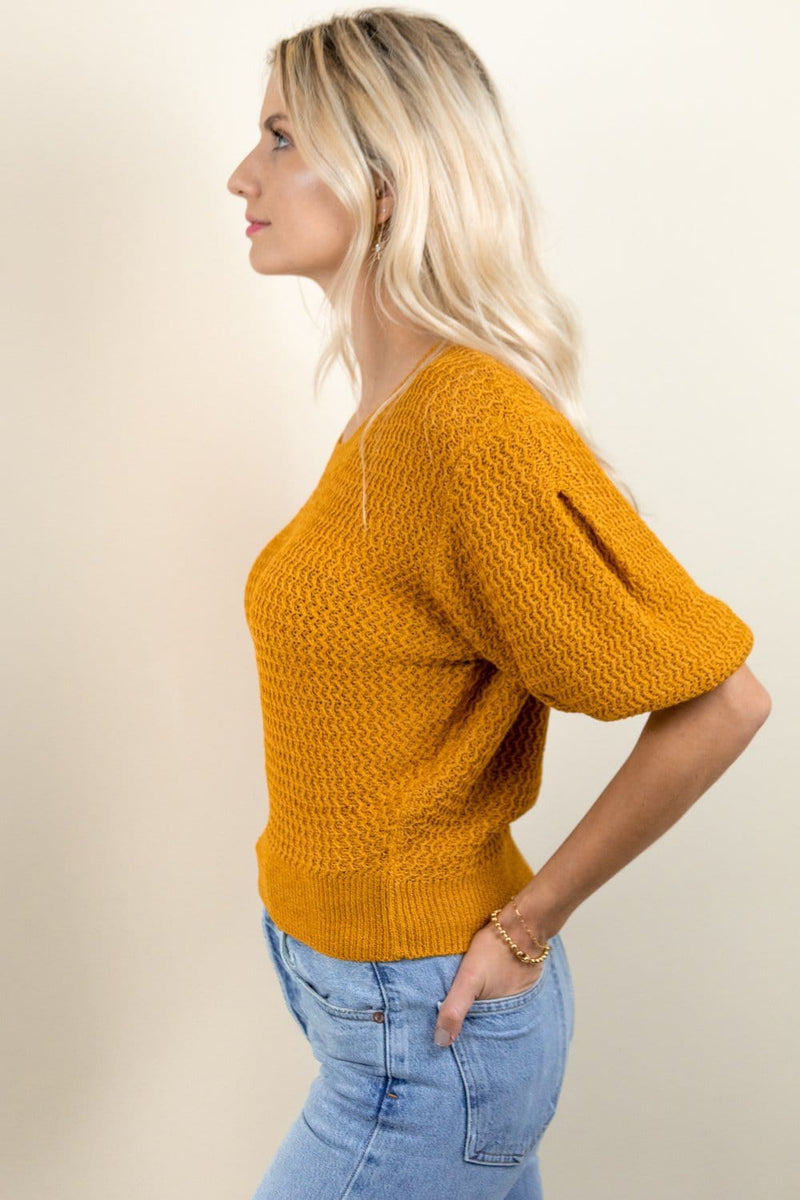 ASTR The Label Cora Sweater Marigold