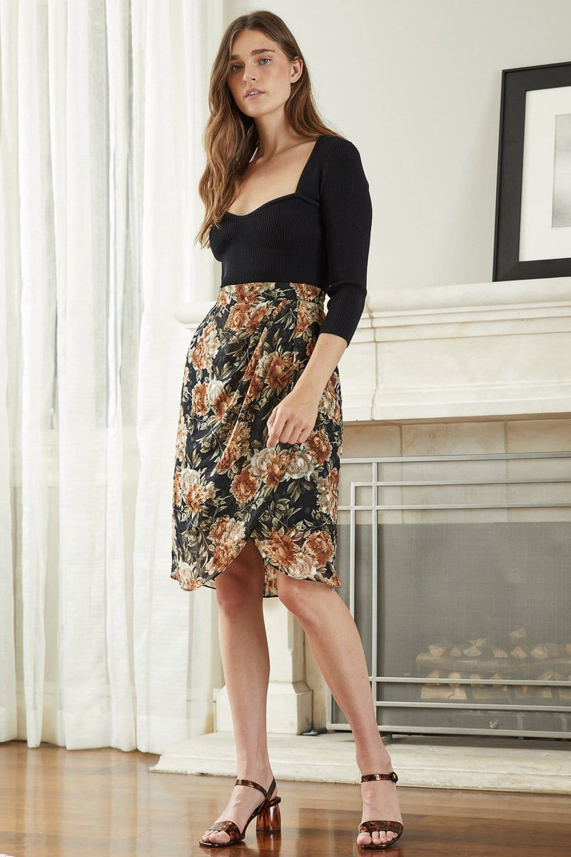 Lucy Paris Florence Floral Skirt
