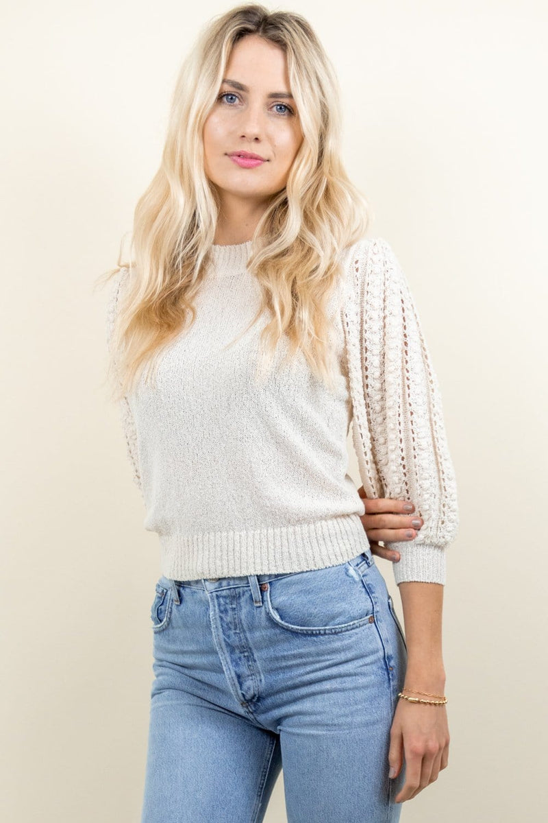 Heartloom Nora Sweater Cream