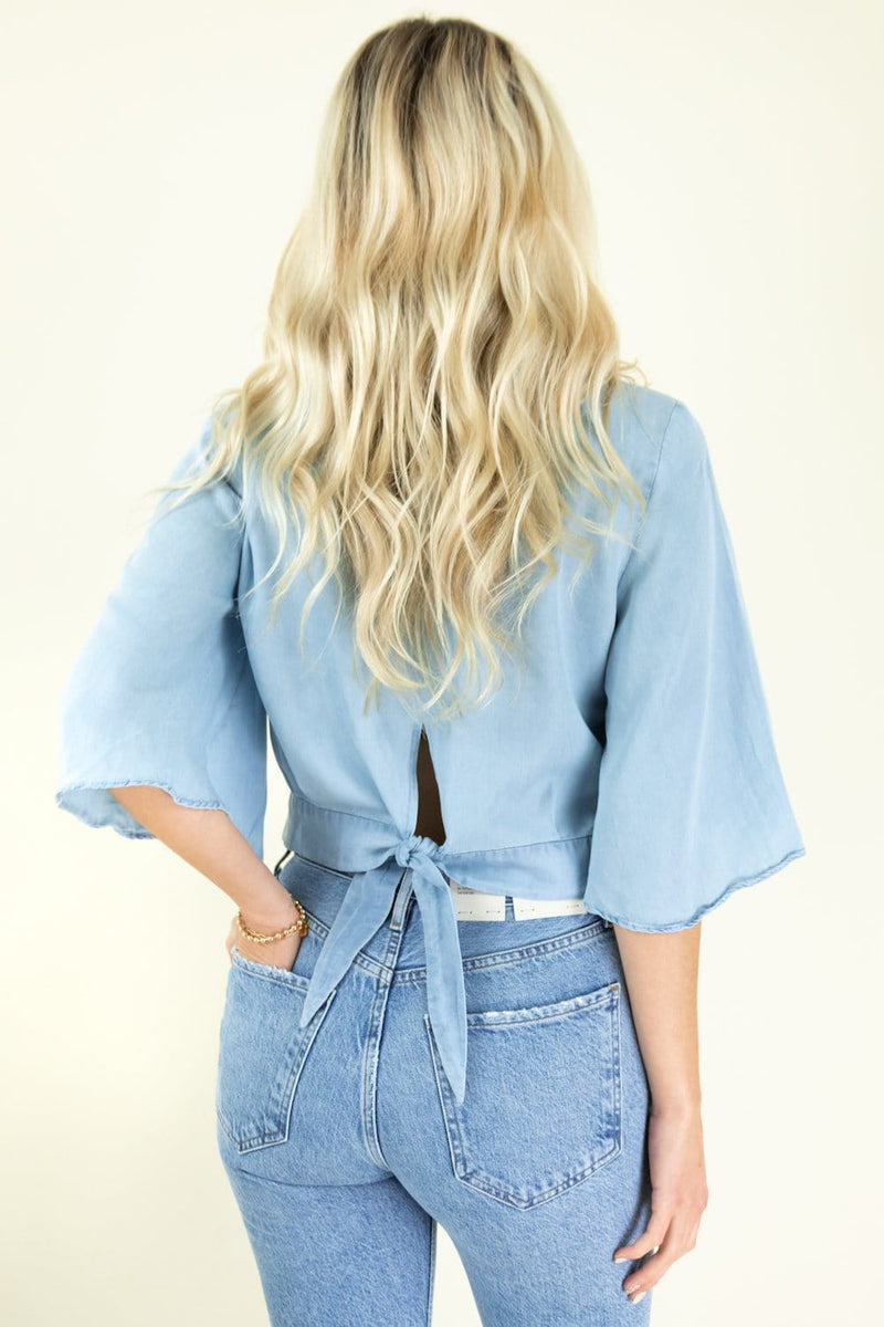 Jack by BB Dakota Chambray The Light | Wild Dove Boutique