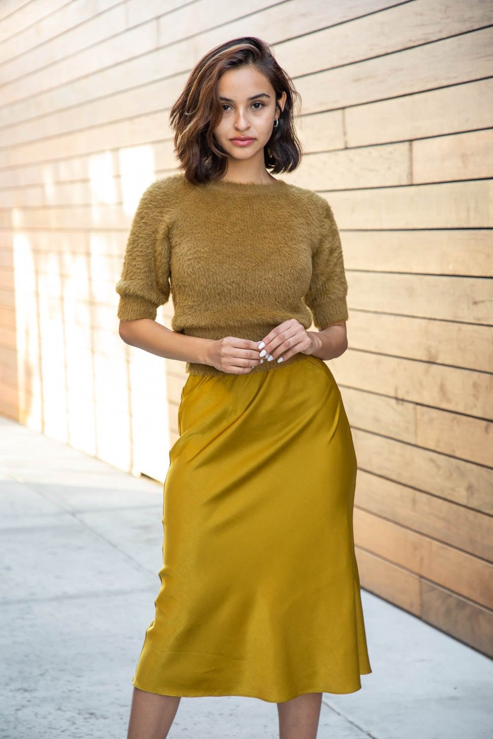 Simone Bias Skirt