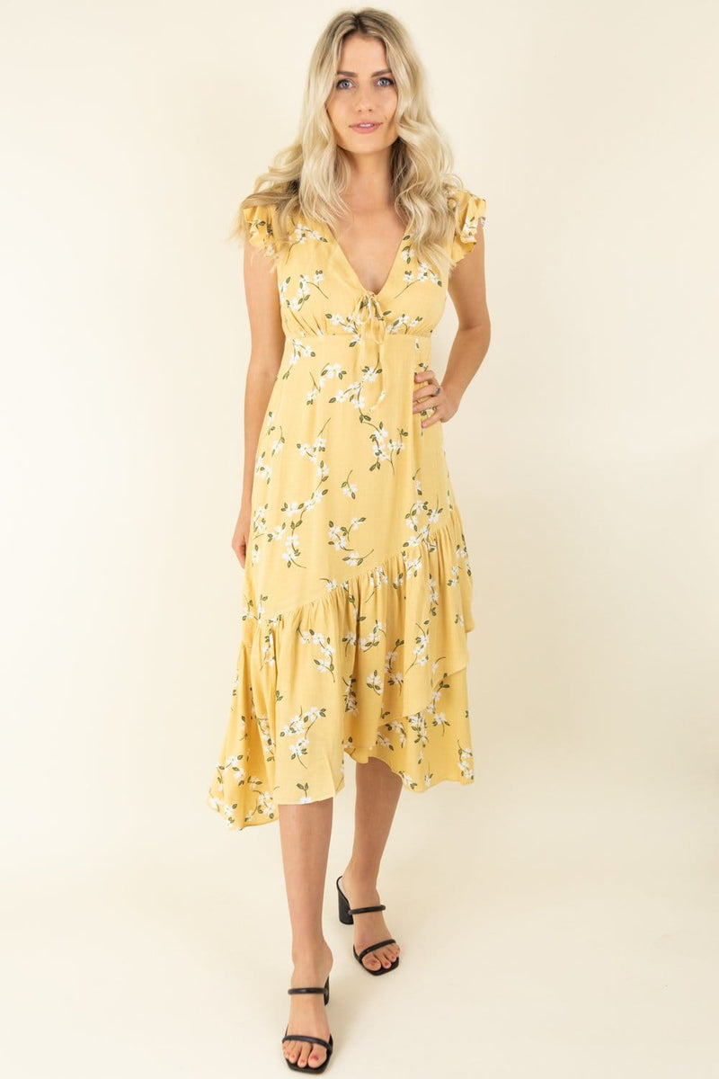 MINKPINK Maggie Midi Dress