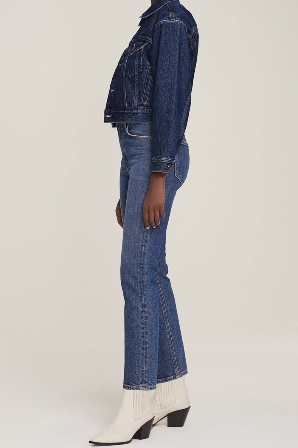AGOLDE Wilder Mid Rise Straight Jean