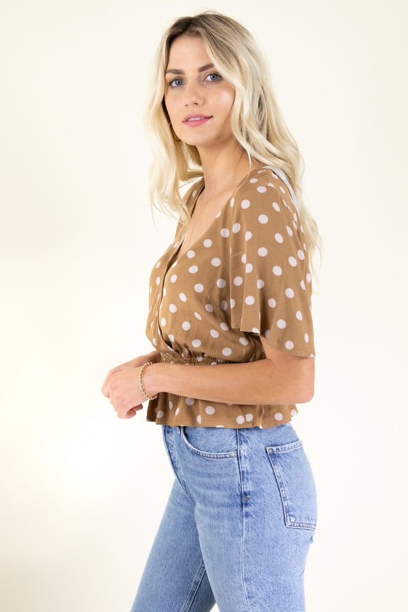 BB Dakota Hot Spots Top | Wild Dove Boutique