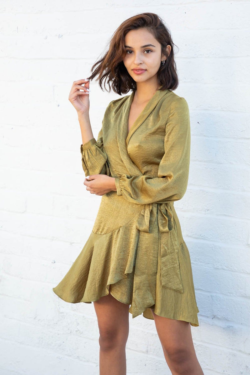 Simone Wrap Dress