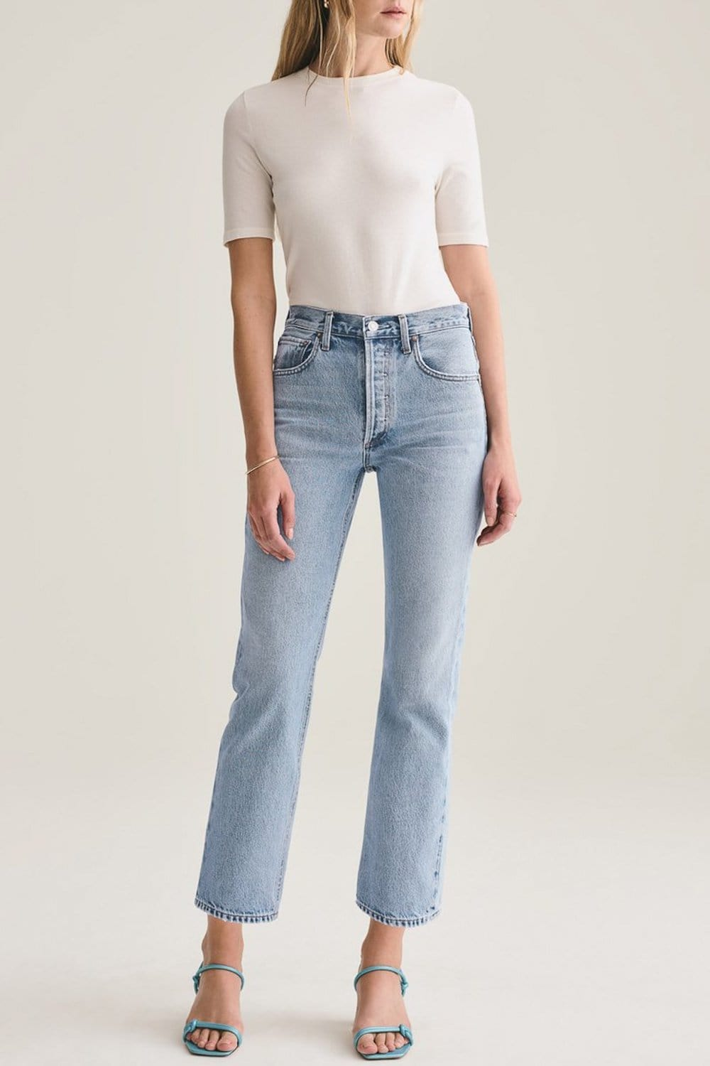 Ripley Mid Rise Straight Jean