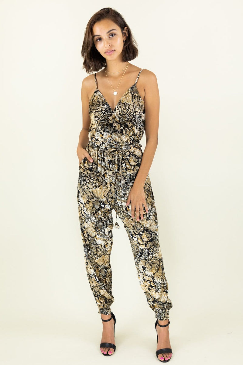 Don't Let Me Snake Away Jumpsuit