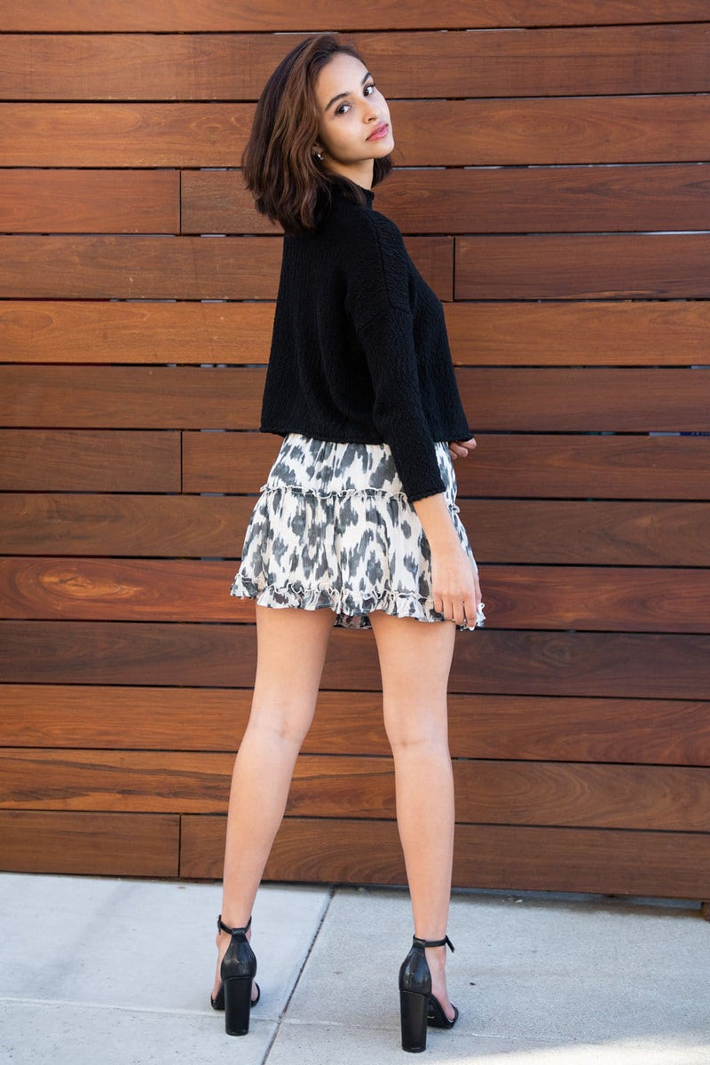 Untamed Mini Skirt