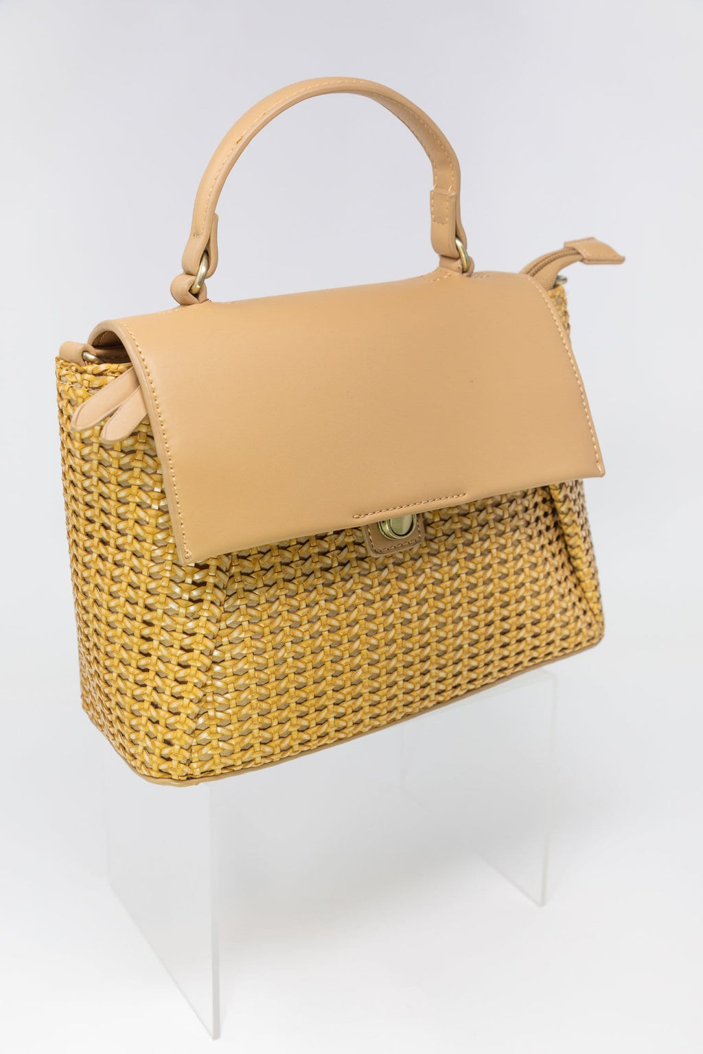 The Sydney Rattan Crossbody | Wild Dove Boutique