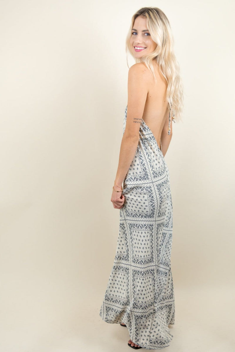Bishop & Young Odessa Halter Dress | Wild Dove Boutique