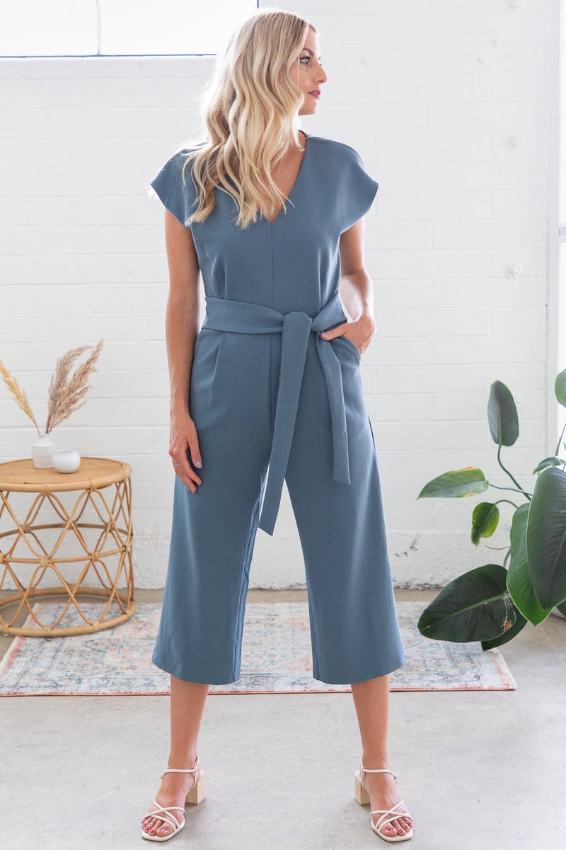 Bishop & Young Front Tie Jumpsuit
