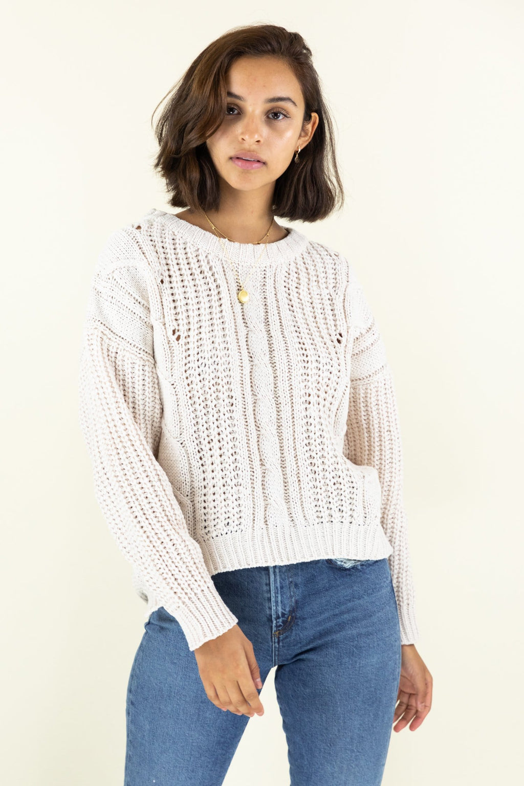 Get Cozy Knitted Sweater