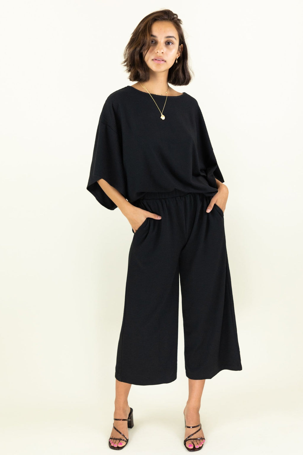 WREN The Label Knit Alone Ribbed Pants