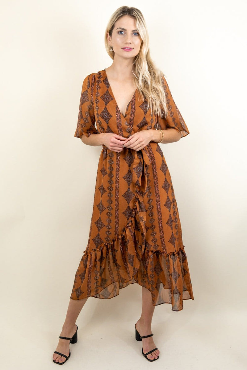 Bishop & Young Delfina Wrap Dress | Wild Dove Boutique