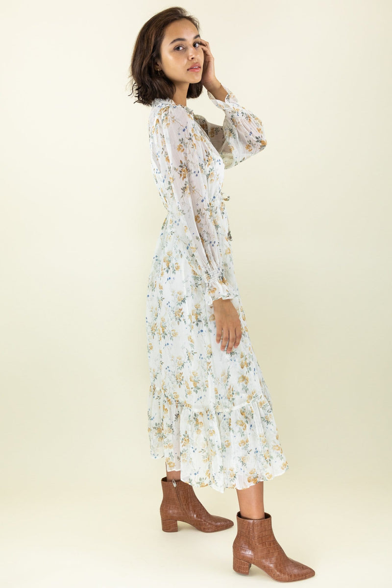 Follow Me Floral Dress