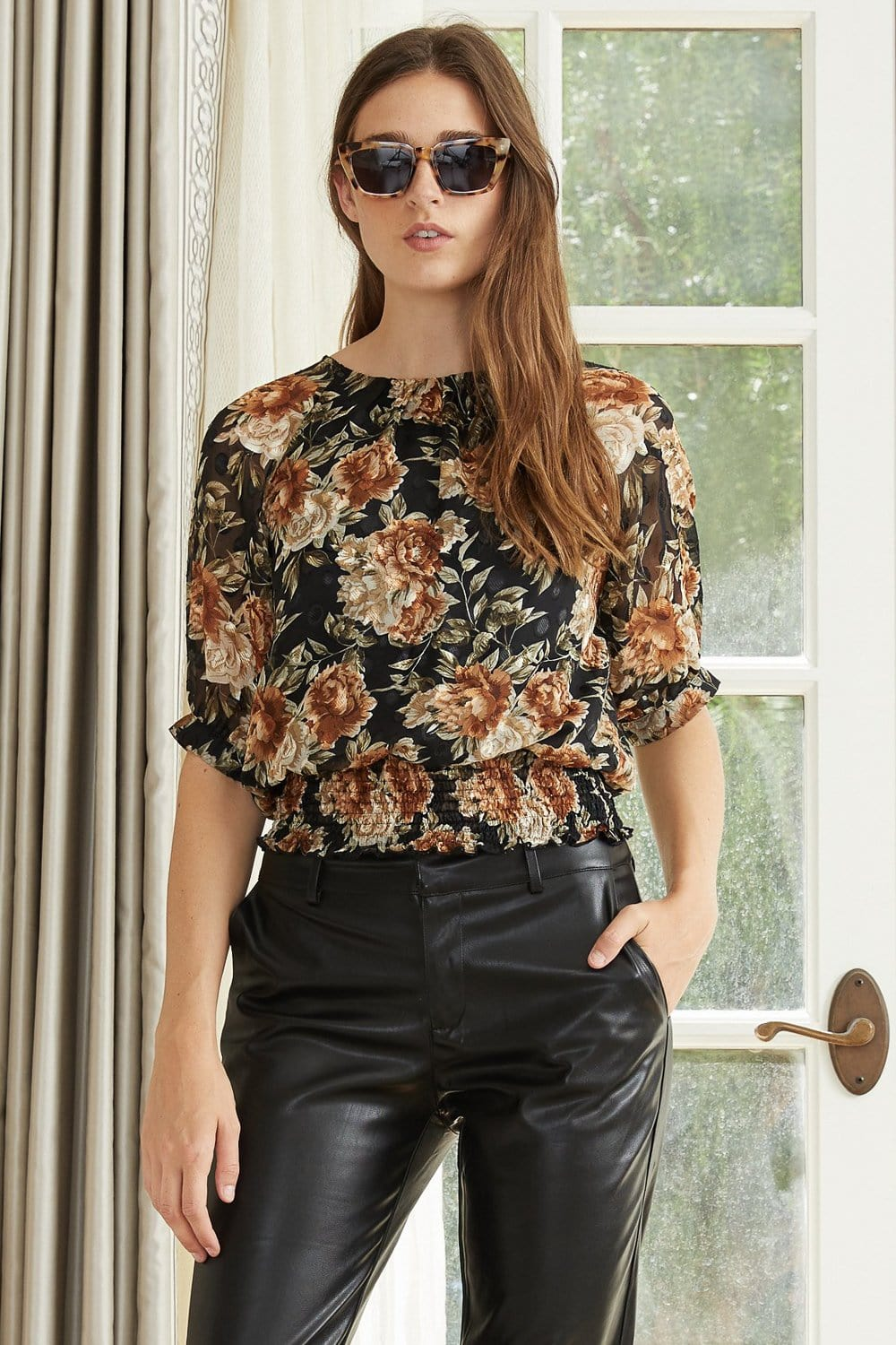 Lucy Paris Florence Floral Top
