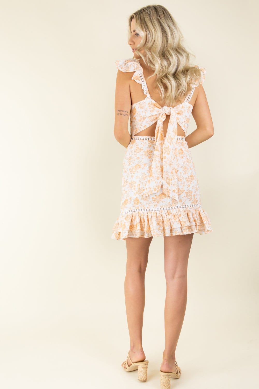 MINKPINK Kiss The Stars Mini Dress