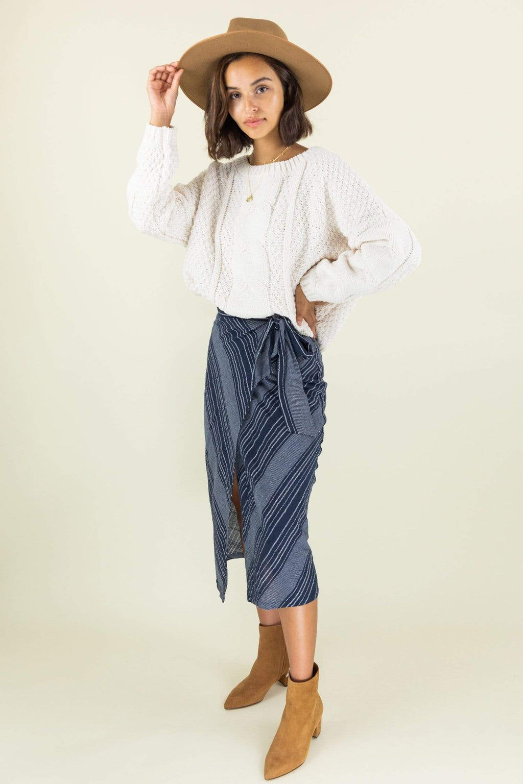Le Rêveur Windansea Midi Skirt