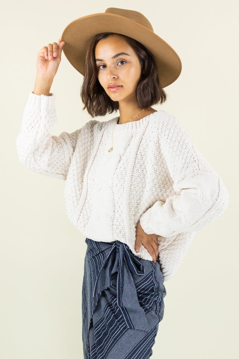 WREN The Label Emmy Knit Sweater