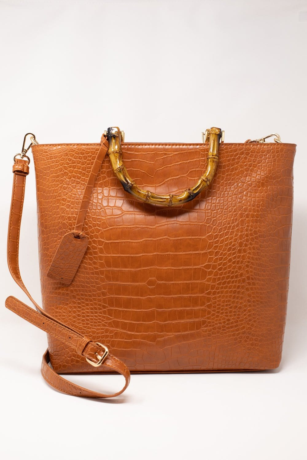 Tessa Embossed Multifunctional Tote