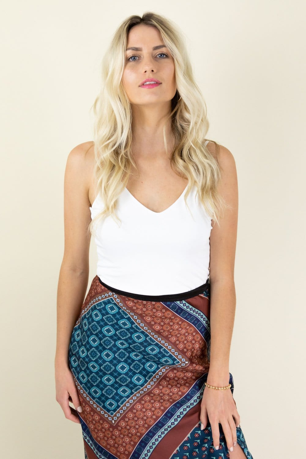 Bishop & Young Bias Slip Skirt | Wild Dove Boutique