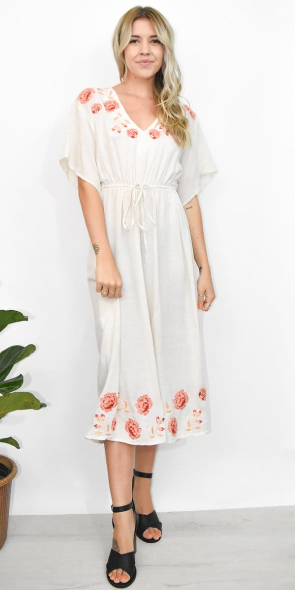 Somedays Lovin' Brave And Free Midi Jumpsuit in Multi Embroidery
