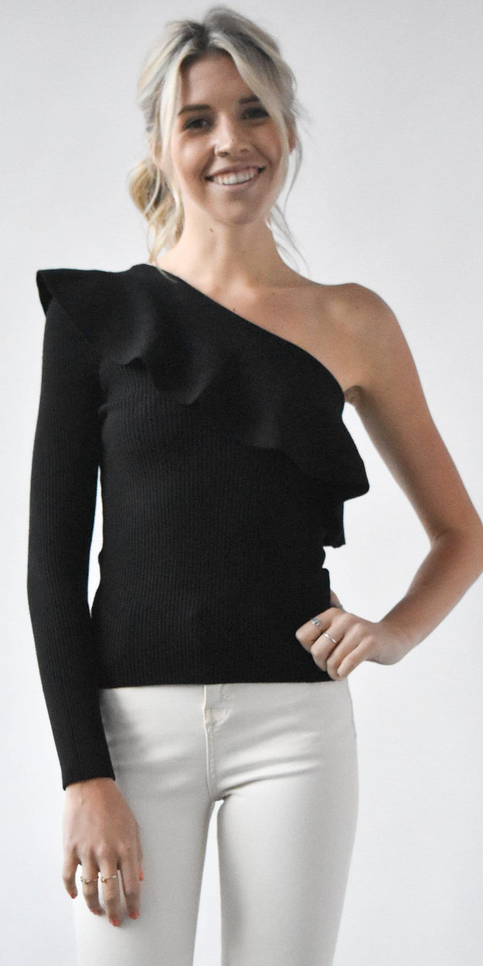 RD Style One Shoulder Top