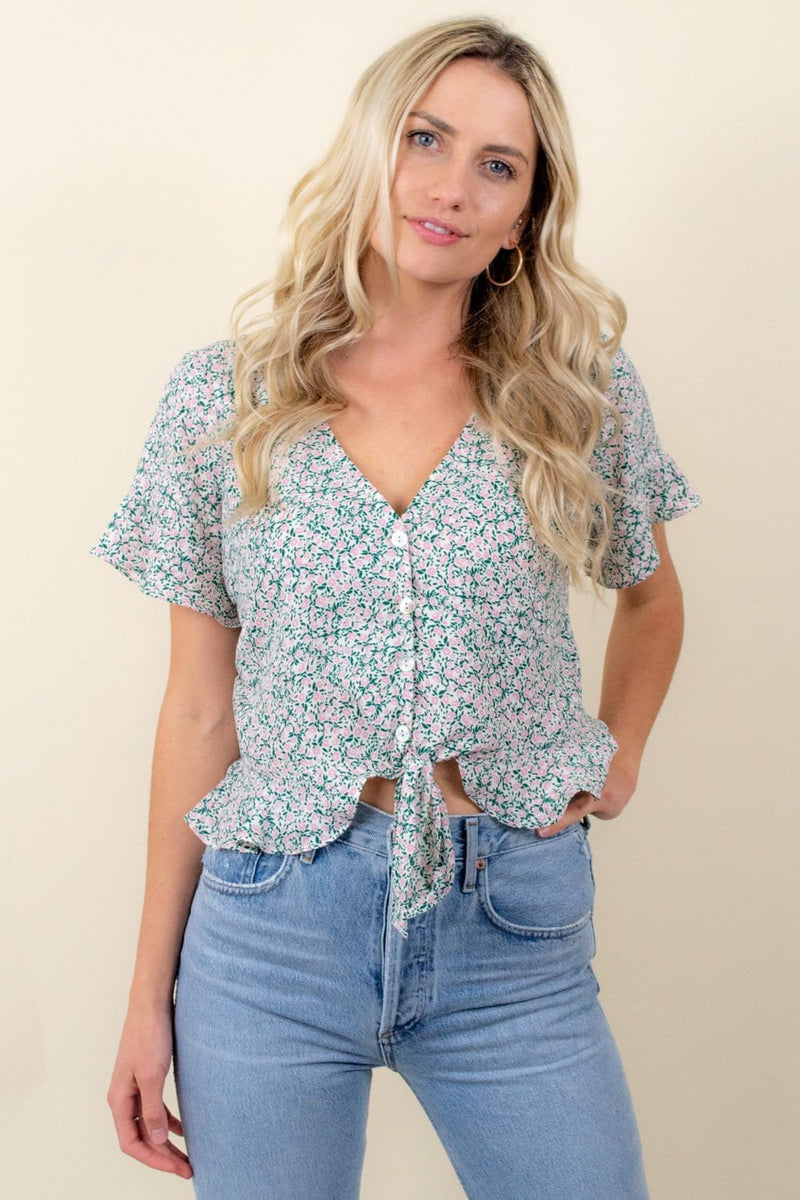 Show Me Your Mumu Ollie Top Peony Please