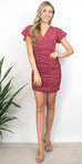 Sage the Label Strawberry Fields Dress in Red