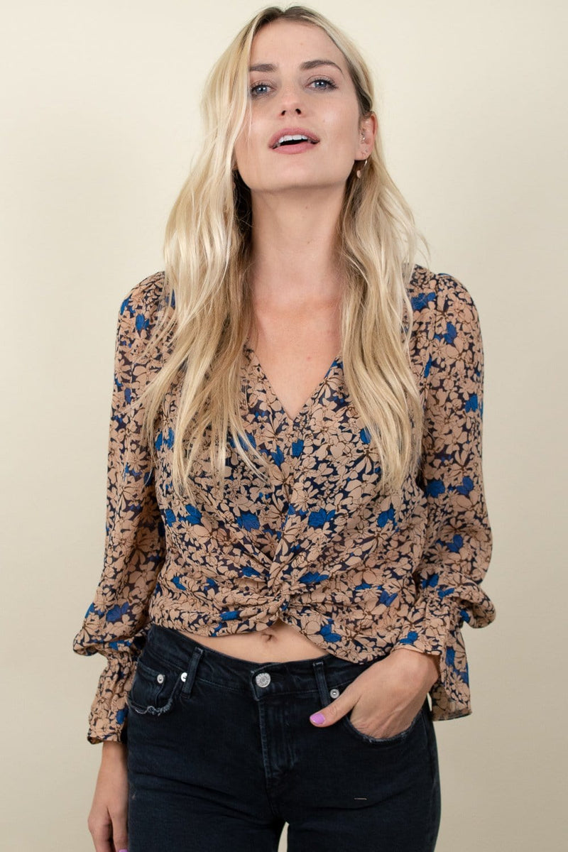 Lucy Paris Kimberly Floral Top