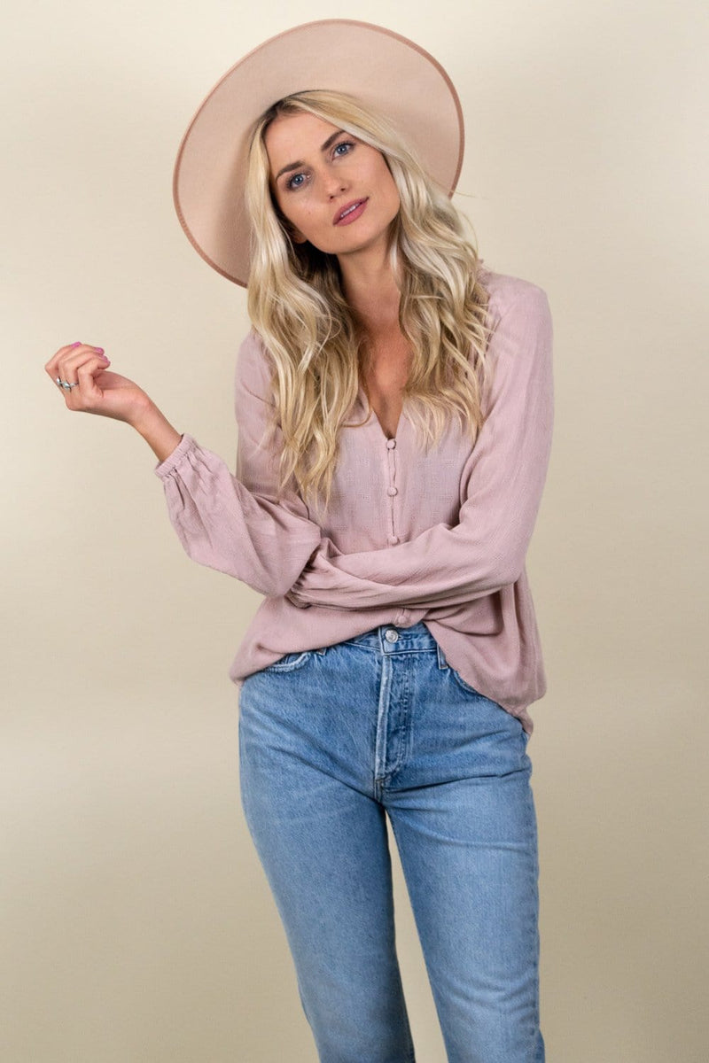 Gentle Fawn Emma Top Blossom Pink