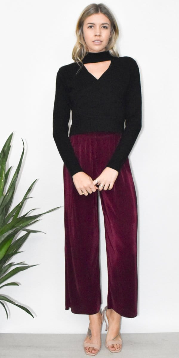 The Fifth Label Relativity Pant in Plum