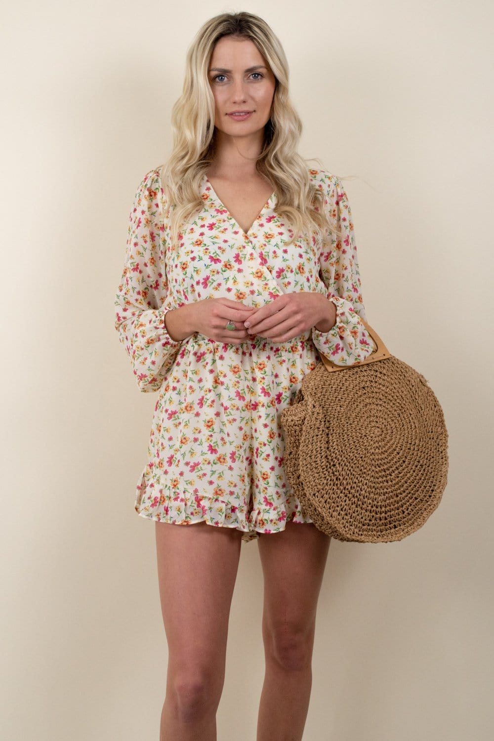 Lost + Wander Love In Bloom Romper