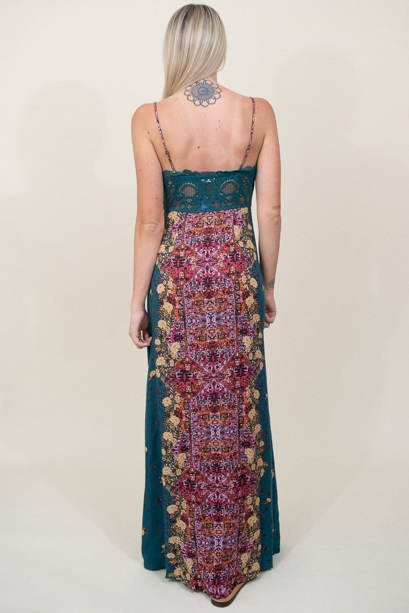 Free People Morning Song Printed Maxi